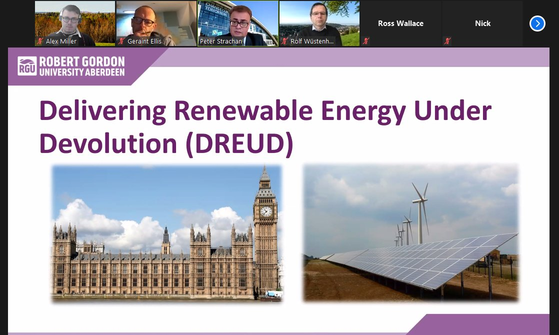Thank you to @ProfStrachan for sharing your insights on maximizing the impact of research with the @ItnMistral network!  Great to see examples of successful knowledge dissemination using social media & online platforms. #RenewableEnergy #UKPolitics #Research https://t.co/w2jzh8aptu