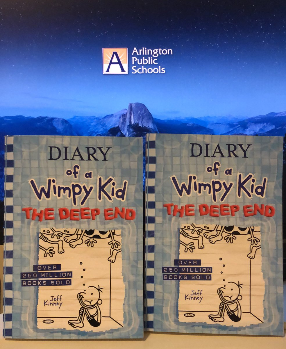 RT <a target='_blank' href='http://twitter.com/KWBLibrary'>@KWBLibrary</a>: New <a target='_blank' href='http://twitter.com/wimpykid'>@wimpykid</a> book is here! Available for checkout starting Monday in our library! <a target='_blank' href='http://search.twitter.com/search?q=kwbpride'><a target='_blank' href='https://twitter.com/hashtag/kwbpride?src=hash'>#kwbpride</a></a> <a target='_blank' href='https://t.co/oBBavXUYLj'>https://t.co/oBBavXUYLj</a>