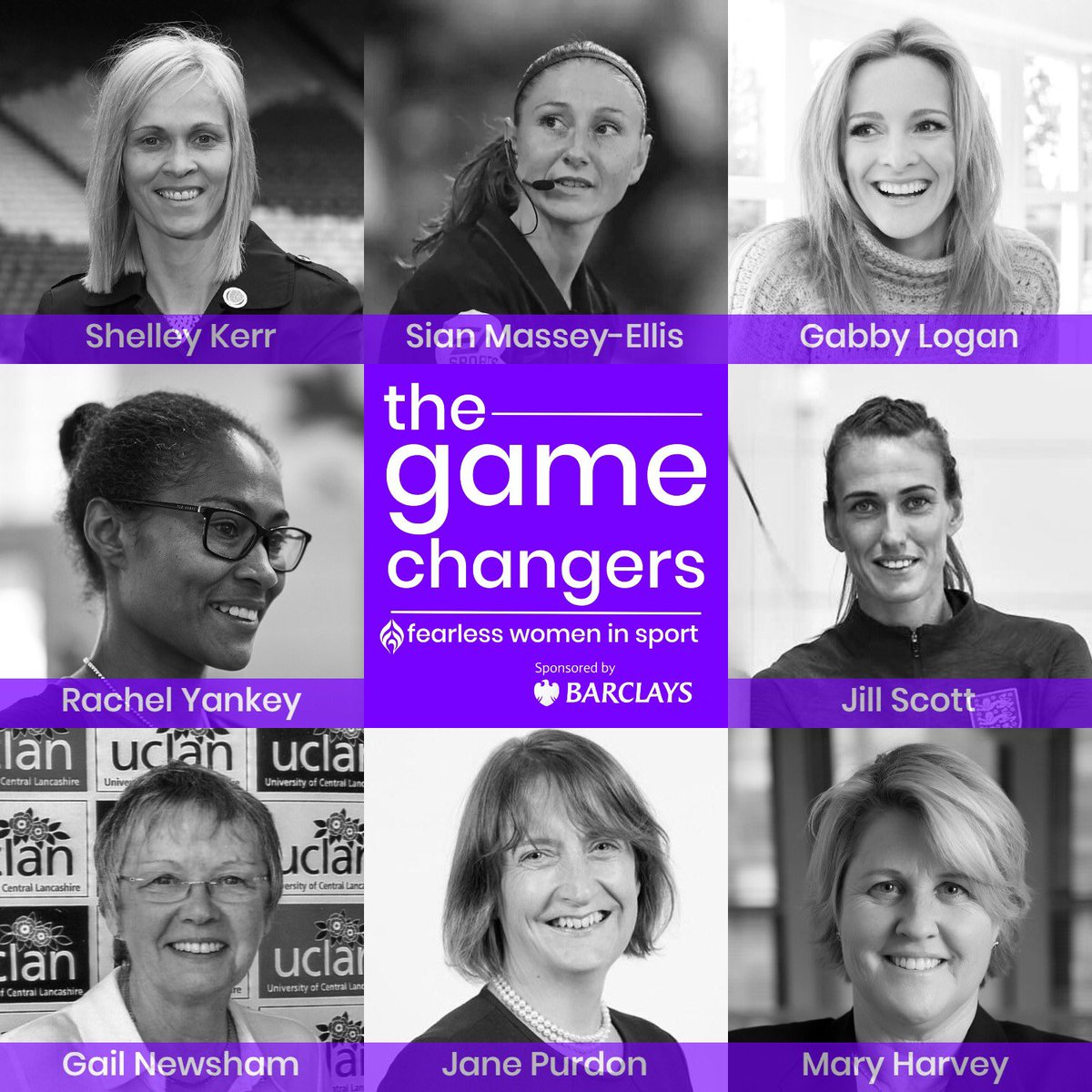 We are excited to announce our sponsorship of series 6️⃣ of @Game__Changers_ podcast, featuring 8 'fearless women in football' who discuss knocking down barriers for women & girls. Episode 1 drops Nov 3rd 🙌   👉 Visit https://t.co/GQrhywKkg2 for the trailer   It's #AllToPlayFor https://t.co/3YriLXi77m