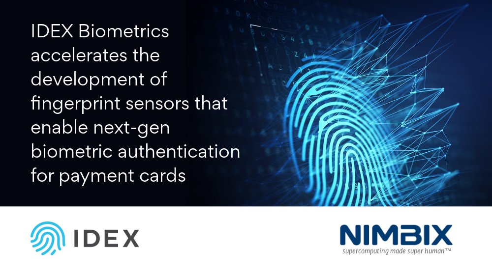 Learn how @IDEXBiometrics built and deployed advanced #biometric fingerprint identification and authentication solutions using the @Nimbix #Cloud. #casestudy https://t.co/47Hi4aeno4 https://t.co/3kCsdsi3pW