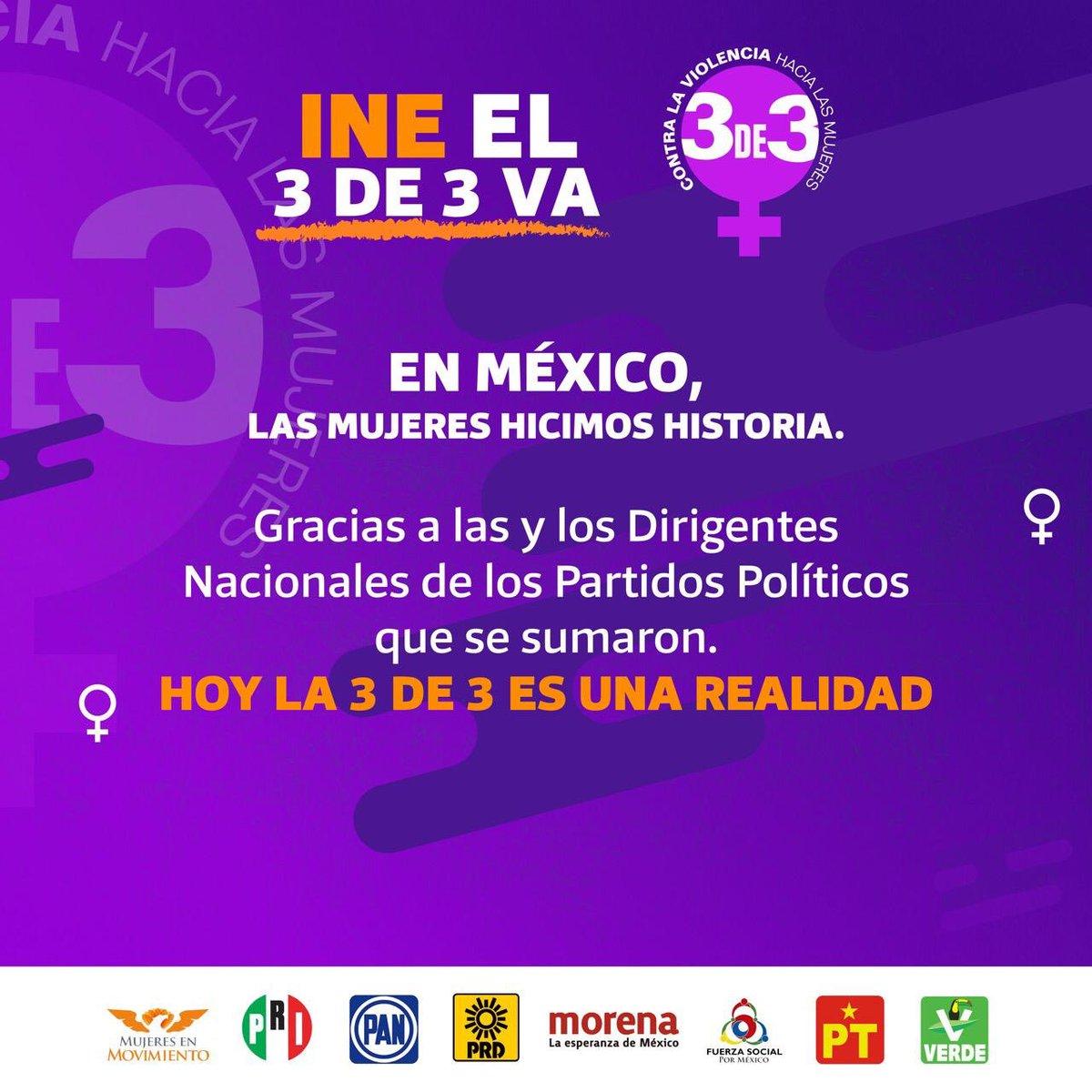 🎉 Gracias por su compromiso. Sin las mujeres, no hay democracia! 🧡💛💙💚❤️🤎💜@jesi_ortega @markocortes @Jesus_ZambranoG  @mario_delgado @markocortes @alitomorenoc @ClementeCH @MonseArcosV @KarenQuirogaA @OnmpriNacional @ONMPRD @MujeresMovMX @MovCiudadanoMX @partidoverdemex https://t.co/jfsfHn2oD4