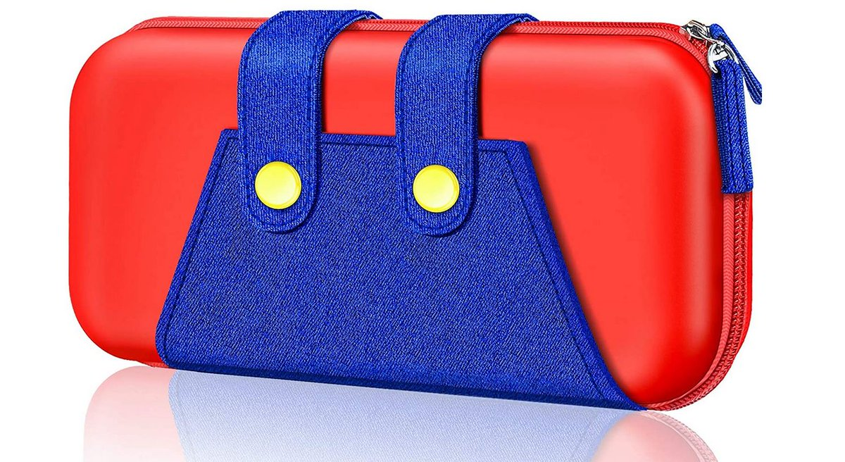 Mario's Pants Switch Case Amazon Lightning Deal Starts in 45 Minutes (Prime Only at First). 2