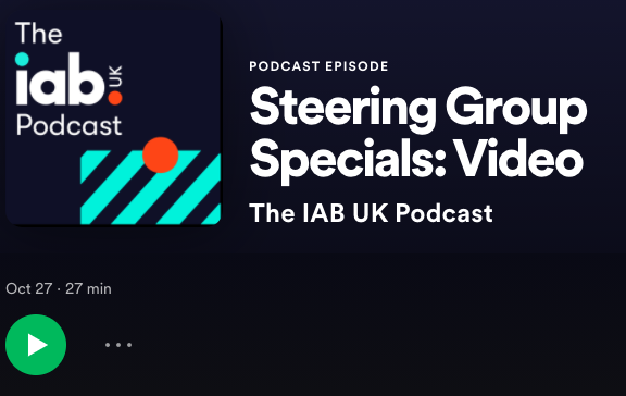 Thrilled to be part of this great @IABUK Podcast about video advertising. Thank you @jameschand1er and the great panelists Chris Hanson from @MailMetroMedia and Jennifer Bunting from @LinkedInUK @mopub #programmatic #videoadvertising #mobileadvertising https://t.co/zq2EoGX9LV https://t.co/0Bw0hRu3sq