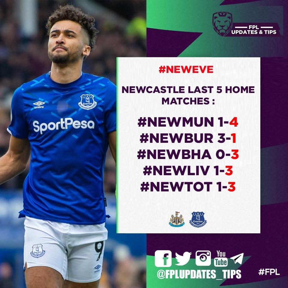 Newcastle Last 5 Home Matches : #NEWMUN 1-4 #NEWBUR 3-1 #NEWBHA 0-3 #NEWLIV 1-3 #NEWTOT 1-3  (4/5) 3+ Goals Conceeded! https://t.co/BcU5ydtwfh