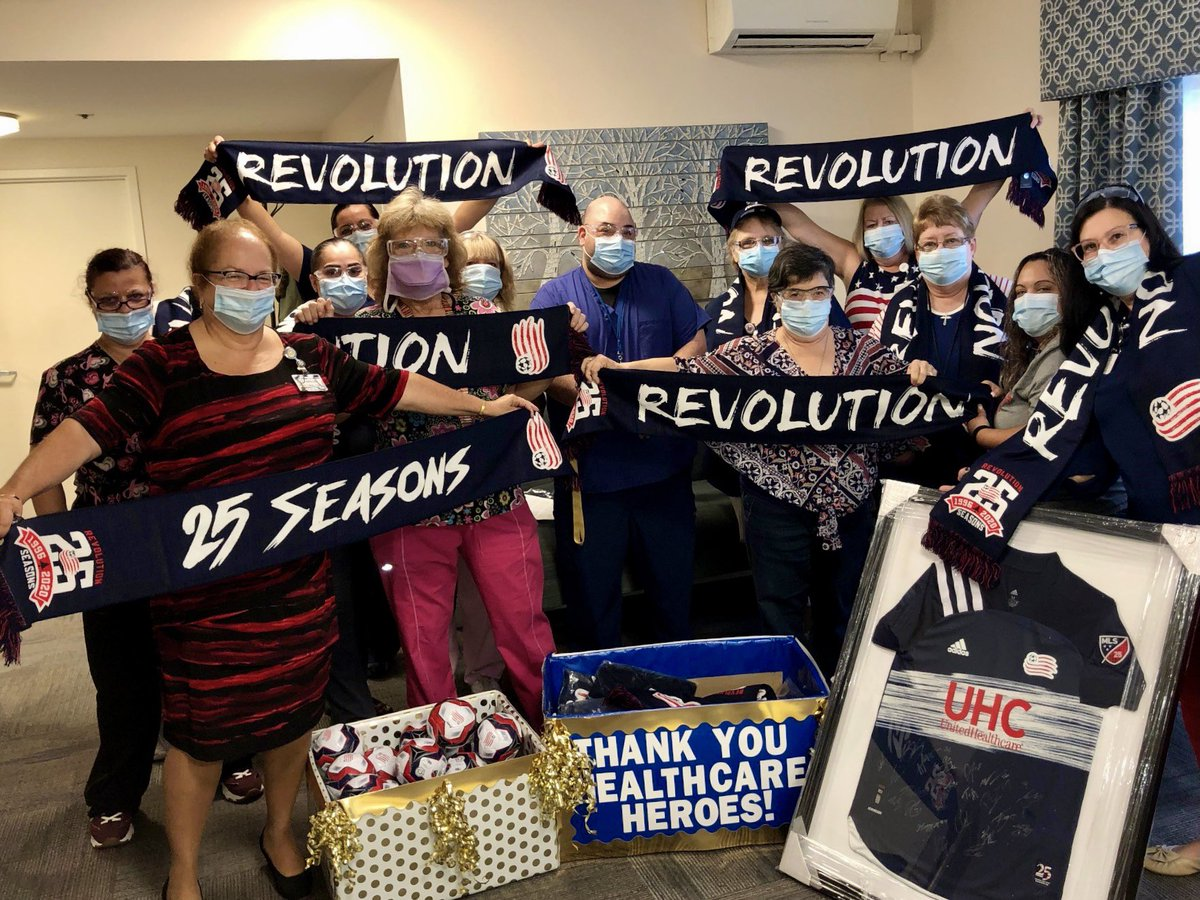 """New England Revolution on Twitter: """"This morning, in honor of"""