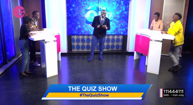 Wakati ni sasa! #TheQuizShow with your favorite host @freddiebudaboss is on! Team Magnificent take on Team Mashujaa in tonight's episode. Your predictions?#ThursdayMotivation