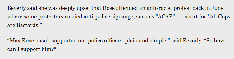 This sums up why #NY11 voters will be sending cop-hater @MaxRose4NY packing. thecity.nyc/2020/10/28/215…