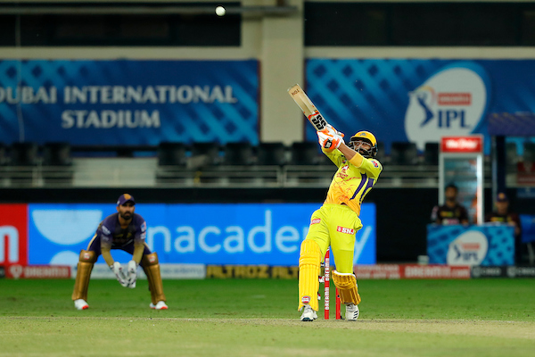 Chennai win!  Six to finish things off. Jadeja, the hero for CSK, in the end!  A thrilling finish, not the one KKR hoped for!  #CSKvKKR  #IPL2020  LIVE https://t.co/XbBA4JnvQo https://t.co/d99HDKDYz2