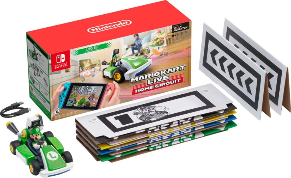 Mario Kart Live available at Best Buy Mario Link0 Luigi Link1