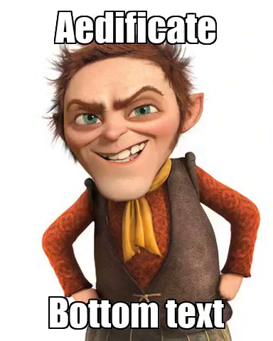 Aedificate - I do not look like this guys stop saying I do its not true