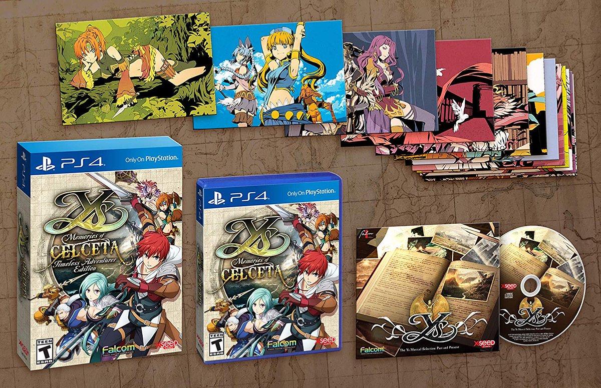 Ys: Memories of Celceta - Timeless Adventurer (PS4) is $24.99 on Amazon 2