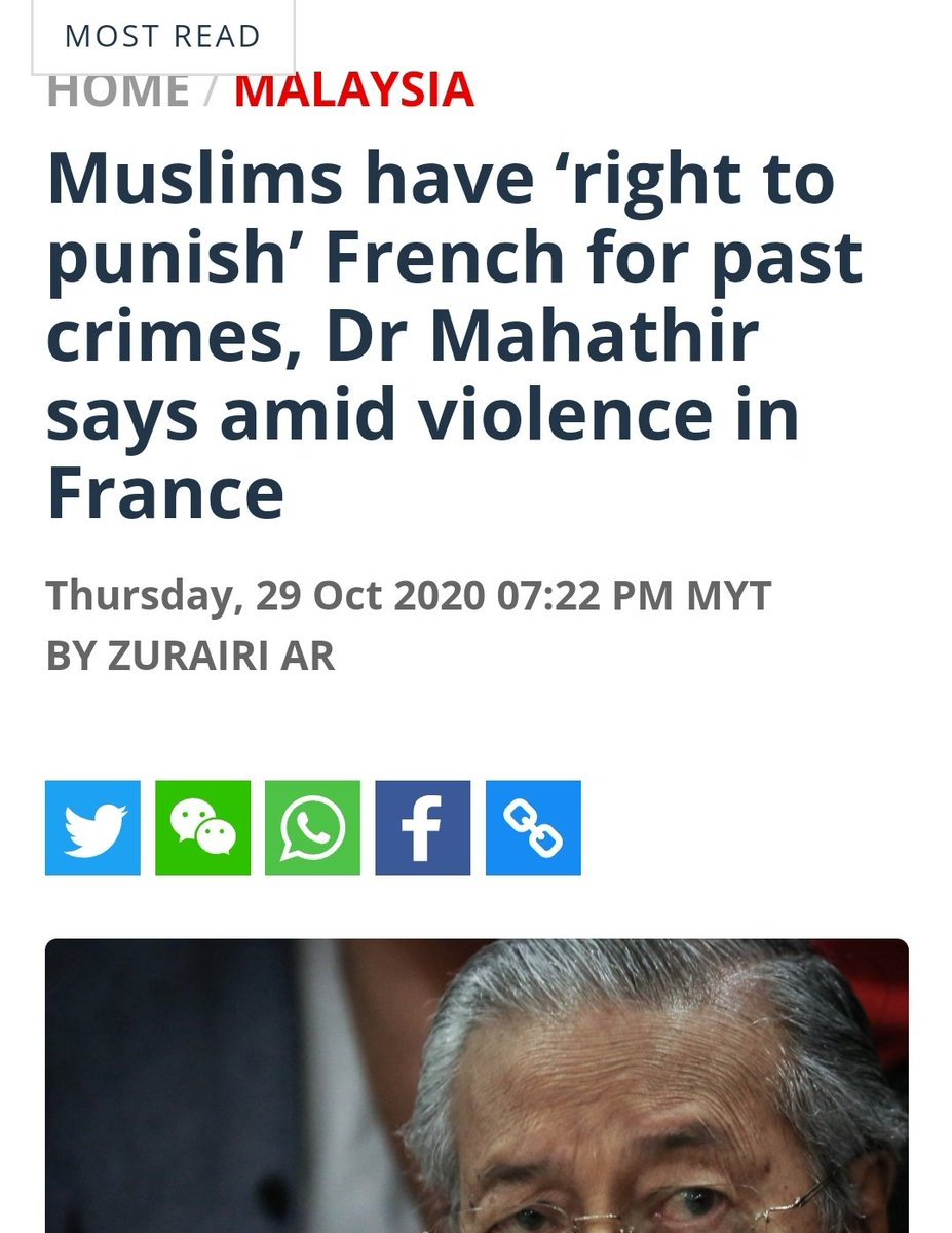 I am sorry to say, you are sick, sir. Being an apologist to murder and violence in the name of religion. This ladies & gentlemen is why we can no longer rely on politicians to be our saviour. We need to save ourselves. Support Gerak Independent! @chedetofficial