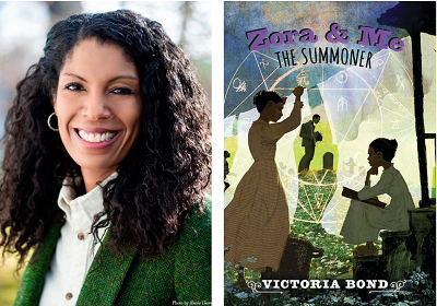 test Twitter Media - Welcome Victoria Bond to our Virtual Book Tour! The author stops by to talk about her new middle grade novel that concludes the Zora & Me trilogy. Visit our blog for an author recording and teaching resources for The Summoner. https://t.co/aX7PC00U1p @SeriesZora @Candlewick https://t.co/bIpravs9ds