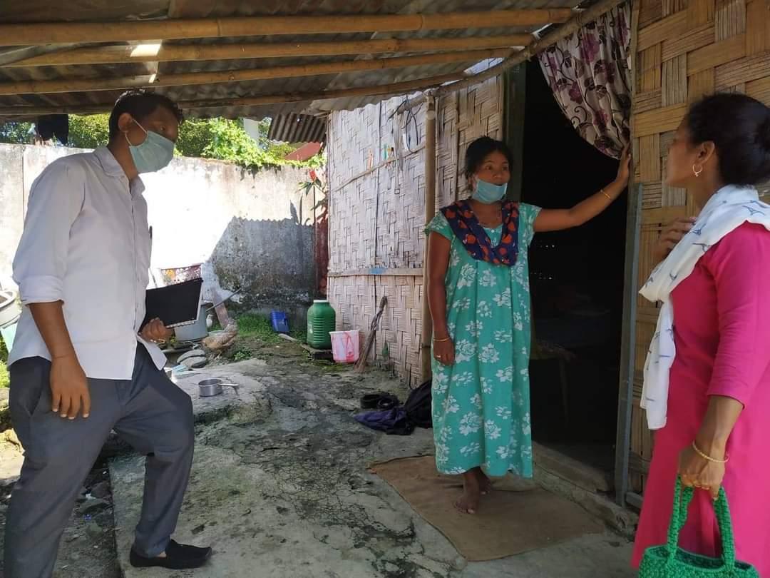 infrared thermometer at Near shiv mandir colony, near Govt. hr.sec. school , Jairampur, & in Nampong, Changlang District, Arunachal Pradesh on 28.10.2020 @HRDministry @Devansh_IAS https://t.co/i5S8vPu2qt