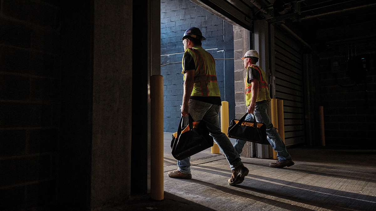 Ready to build your future? The DEWALT Trades Scholarship can help you earn your degree and get a steel-toed boot in the door. Applications open soon.
