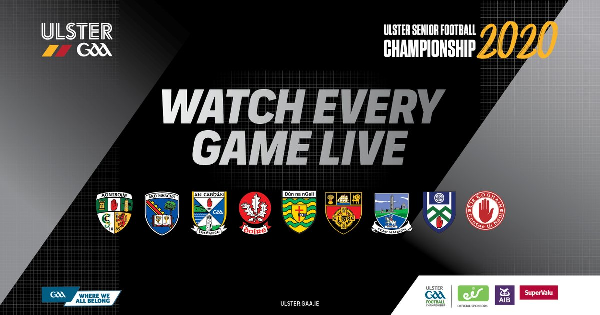 The Ulster Senior Football Championship is back this weekend with 3⃣ huge games!🏐  First round: @monaghangaa v @CavanCoBoardGaa, Sat 1.15pm on Sky Sports Mix  QF: @officialdonegal v @TyroneGAALive, Sun 1.30pm on BBC2 and RTÉ2  QF: @Doiregaa v @Armagh_GAA, Sun 4pm on BBC2 https://t.co/RQvfpLIpCF