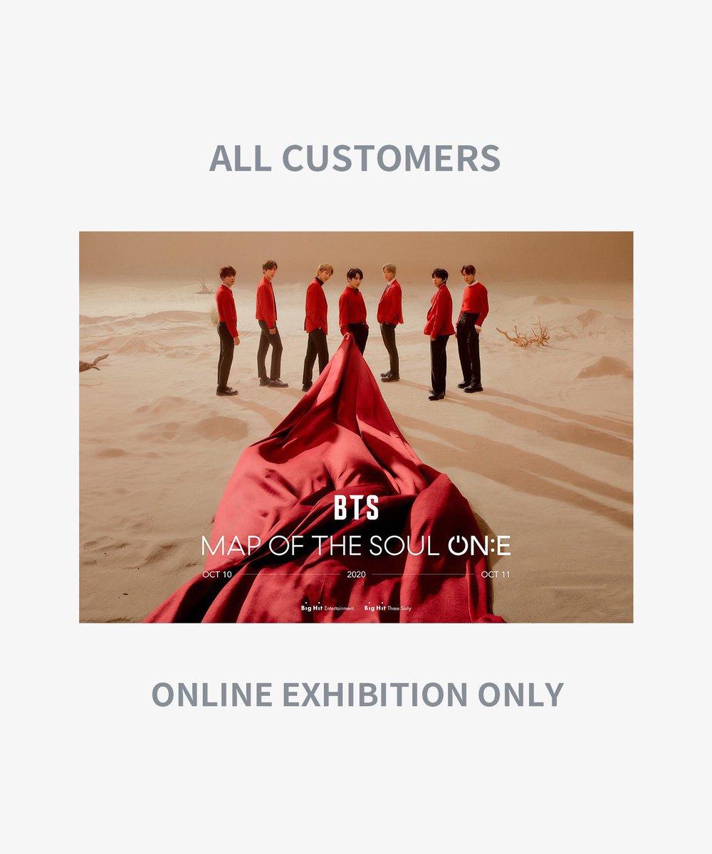 ส่งต่อ online exhibition ค่ะ 290บาท เราซื้อมาแล้วโน๊ตบุ๊คเราดูไม่ได้  #MapOfTheSoulOne #ตลาดรถไฟบังทัน  #ตลาดนัดบังทัน https://t.co/jnCBGuCfTb