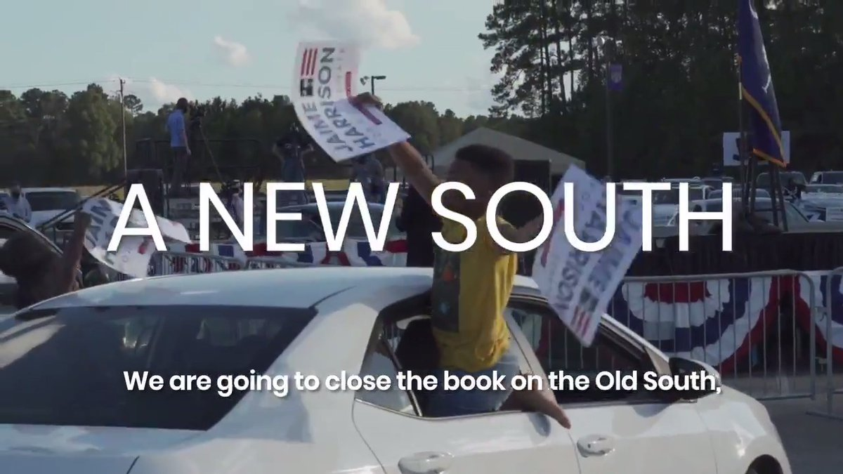 The pandemic has changed the way we campaign, but we arent letting it slow us down. Join us for our final drive-in rallies of the year! Click the links below for more info! Upstate 👉🏾 bit.ly/37QcXa6 Orangeburg 👉🏾 bit.ly/31Ut1nB