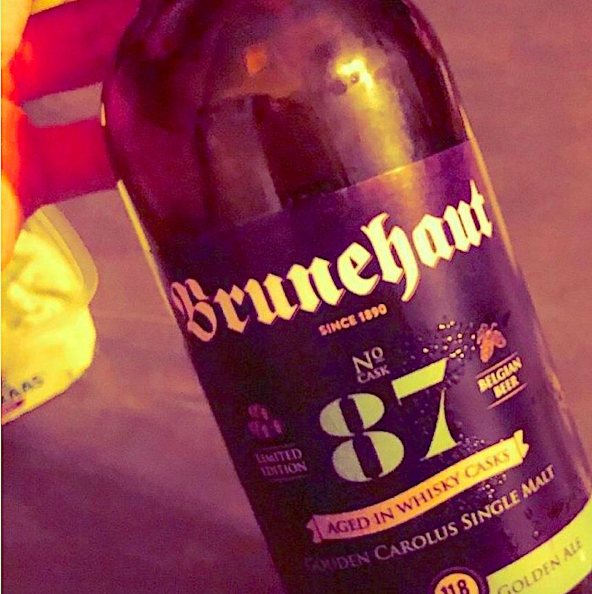 #BRUNEHAUT whisky-cask aged #87. 11.8% abv #biere #beer #bier #pivo #ale  #brunehaut #carolus #vinsbrunin https://t.co/SrozoIL597