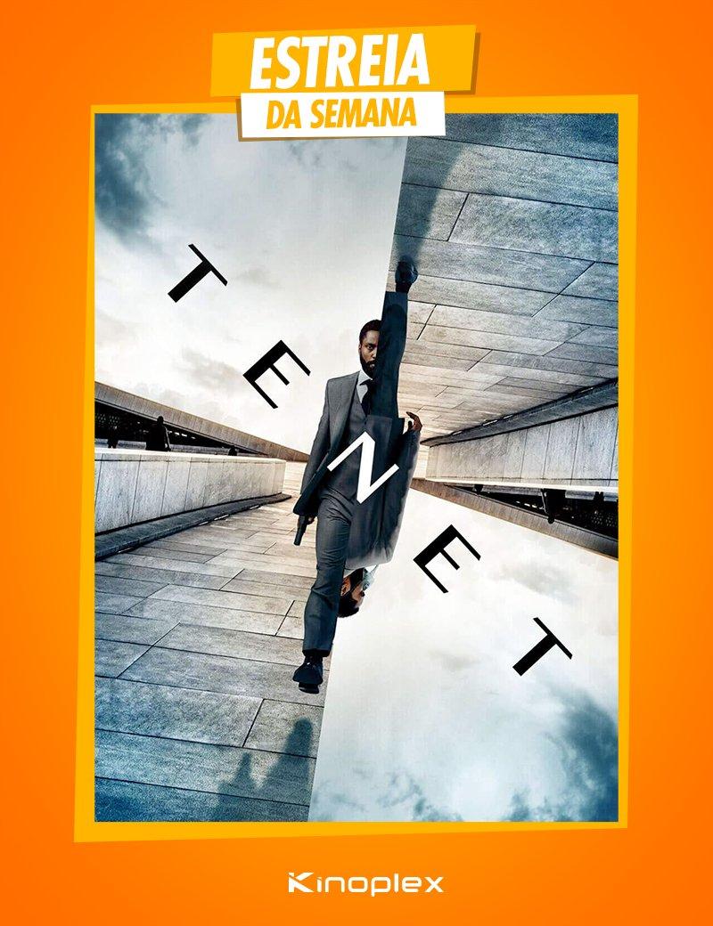 O novo filme do revolucionário diretor #ChristopherNolan é a grande estreia da semana: #Tenet já está em cartaz no Kinoplex! Garanta seu ingresso: https://t.co/9HrTRG1BRl https://t.co/RBCajiXE6q