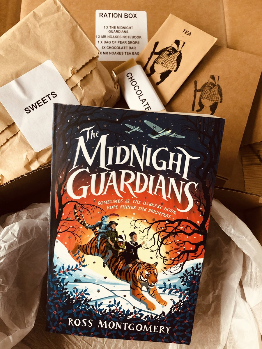 Great to receive a #midnightguardians ration pack. And just in time too to rescue my morale this gloomy day.