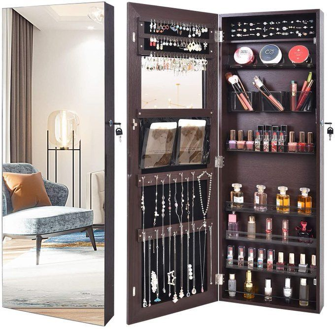 Jewelry Organizer Mirror for $75!  *coupon on page  2