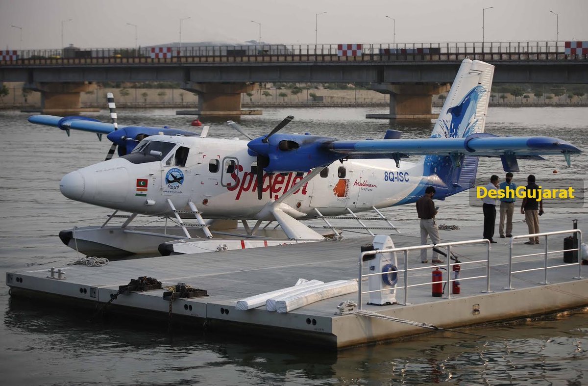 In photos: Amdavad ahead of PM Modi's visit to inaugurate India's first water aerodrome