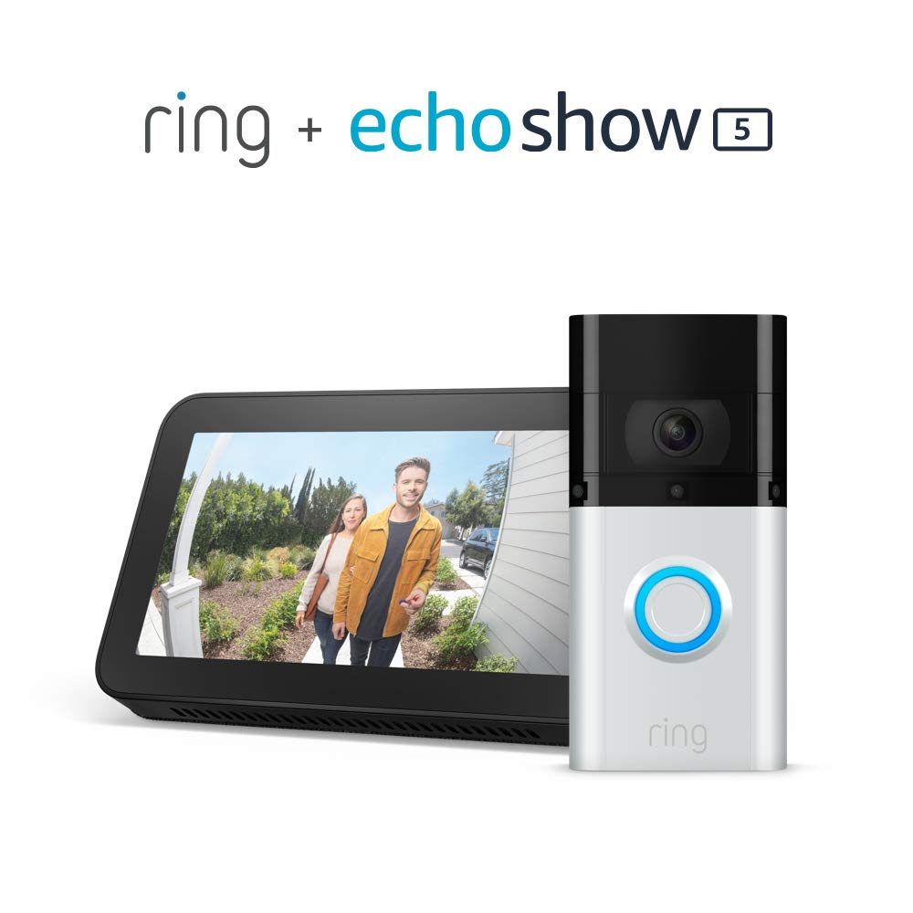 STEAL!  NEW Ring Video Doorbell 3 Plus WITH Echo Show 5 for $169.99, retail $319.98!  2