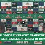 Image for the Tweet beginning: #Kohfeldt und #Baumann über Personal,