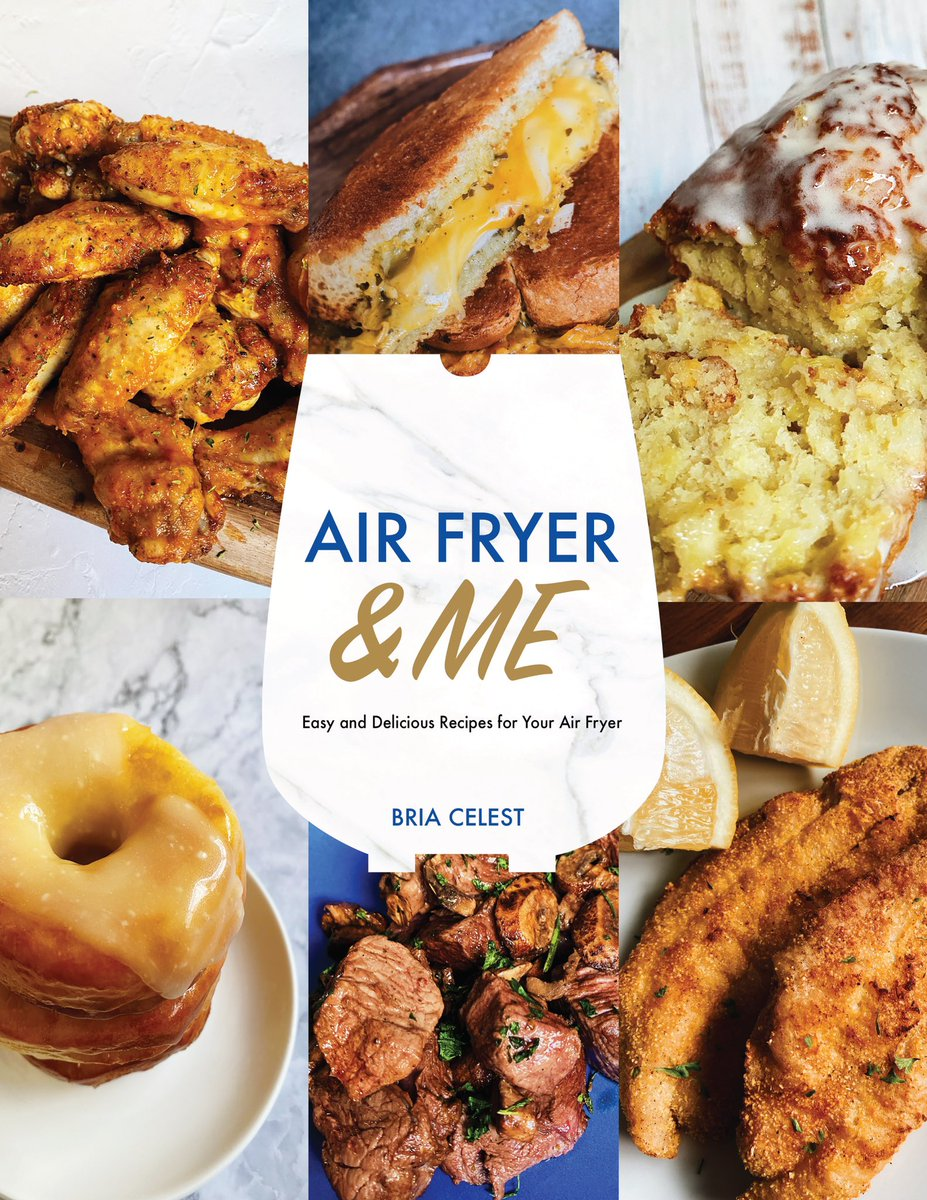 It's here! My first air fryer cookbook! 'Air Fryer & Me' has 26 air fryer recipes ranging from chicken to beef to vegetarian to desserts & everything in between! Works w/ all air fryers! I'm so excited to share this with you guys 🥺✨ hope y'all love it! payhip.com/b/r9Ii