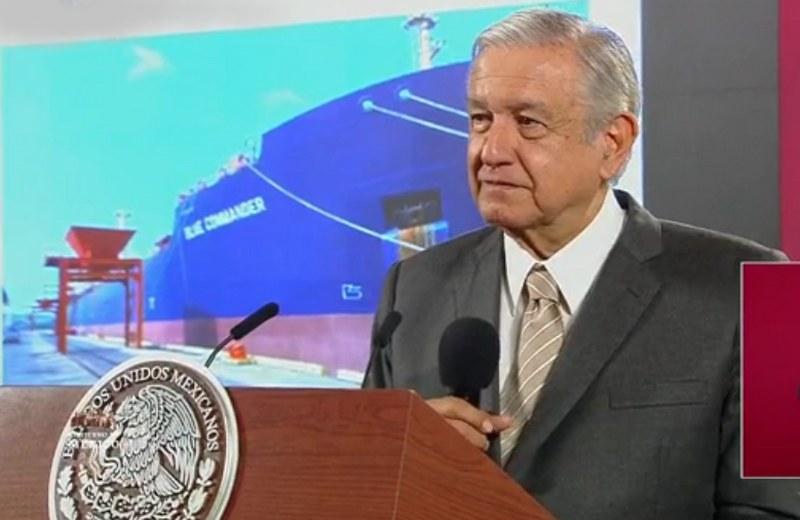 El gobierno federal dio a conocer que el aseguramiento del un barco Blue Commander foto: jvchable