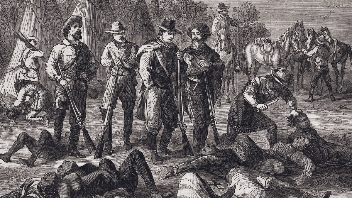 """Brett Chapman on Twitter: """"The phrase """"Native American genocide"""" is usually  said in an ambiguous manner to signify centuries of killing of Natives by  Europeans. But a very specific genocide occurred in"""