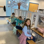 Image for the Tweet beginning: #3rdGrade students rocking lunch during