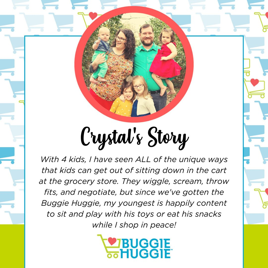 Thank you, Crystal, for sharing your #buggiehuggielove with us! #thebuggiehuggie #shopbuggiehuggie #shoppingtips #shoppinghacks #parentingtips #parentinghacks https://t.co/MhAI7NzvnV