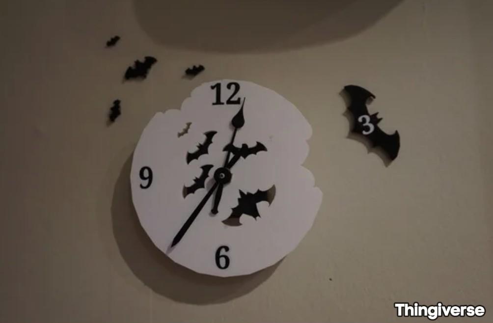 Continuons sur notre thématique Halloween et voyons ce que la communauté a inventé pour mettre à l'honneur les chauve souris  https://t.co/LMWADNXuNA  #3dprinting #Impression3D #Easy3D #picoftheday #PLA #Deco #Bat #Accessoire #ChauveSouris #Halloween https://t.co/wNislrg5ET