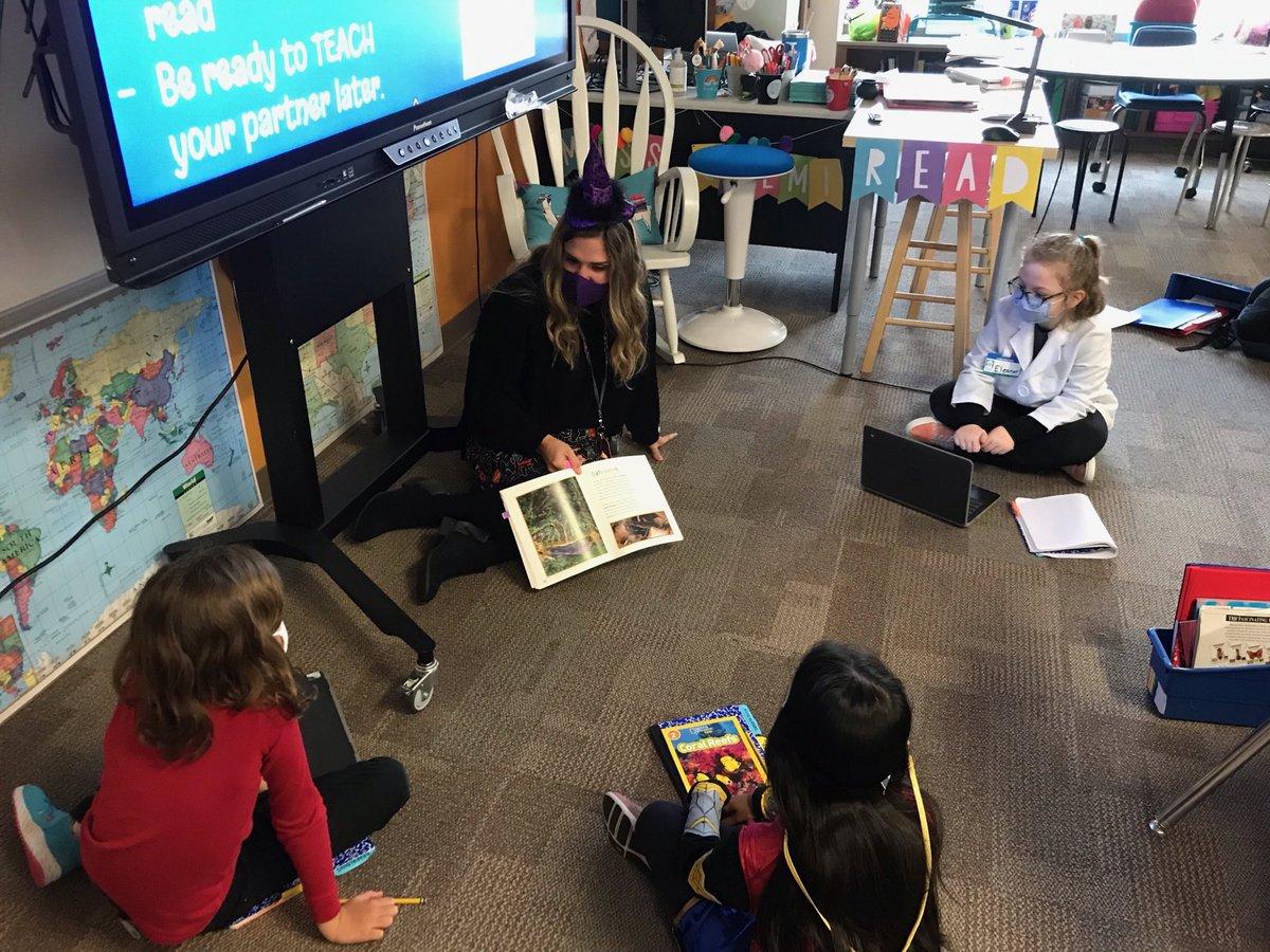 Red Ribbon Week reading fun in Miss Salmi's class. @CFBISD