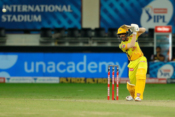 Ruturaj Gaikwad continues to show his spark.  Brings up his 5⃣0⃣!  Top class batting. Keeping it very simple and classy!  CSK 91/1 after 11.2 overs  #CSKvKKR  #IPL2020  LIVE https://t.co/XbBA4JnvQo https://t.co/Qb5ekwySZ2