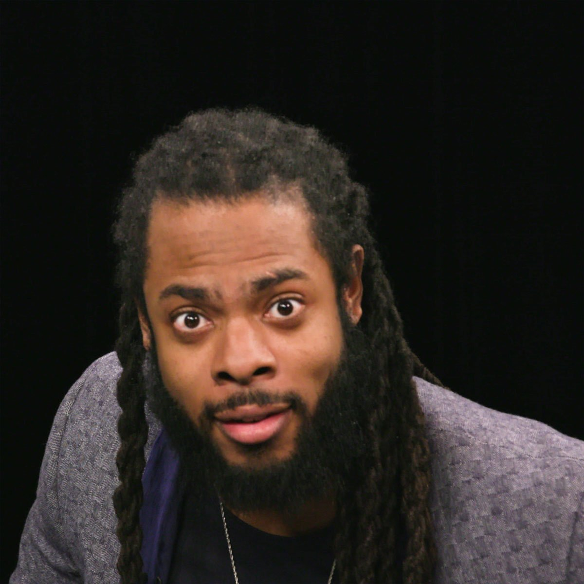 Image for the Tweet beginning: This is what Richard Sherman