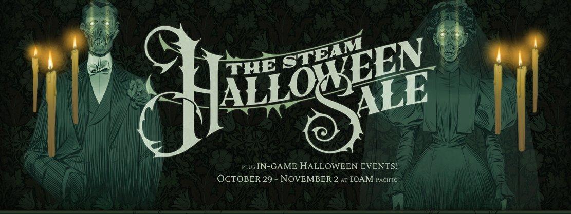 Steam Halloween sale 2