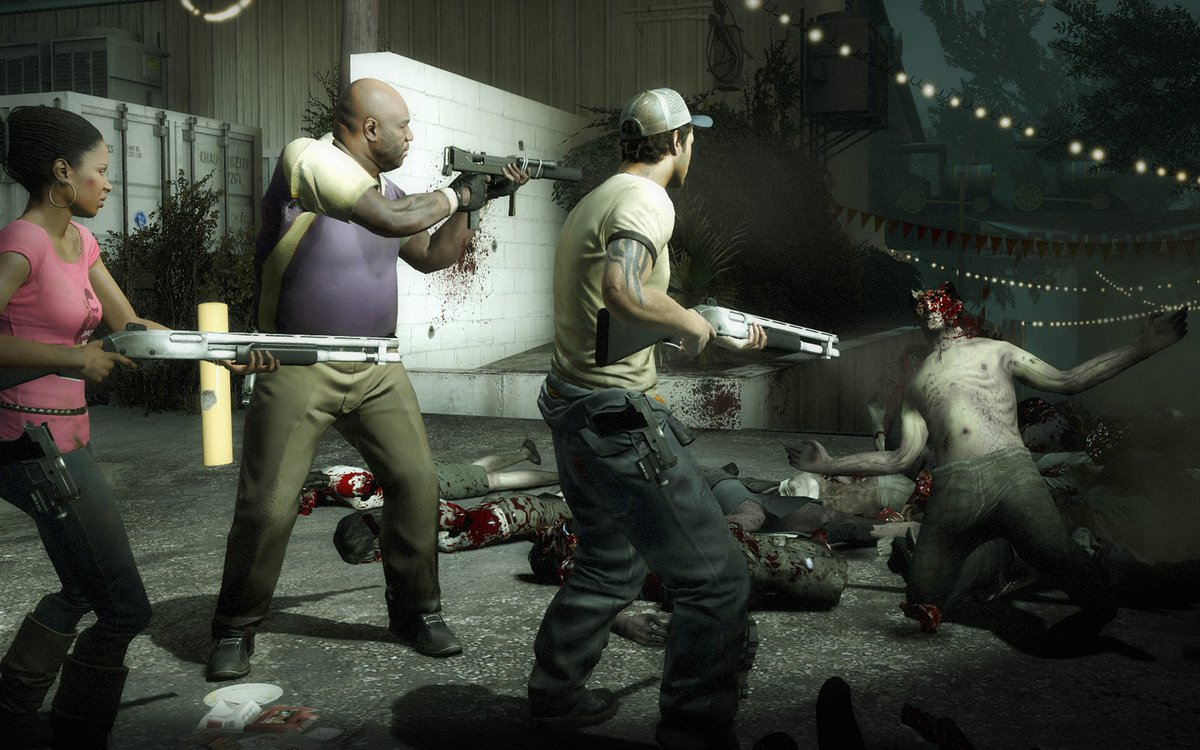 Left 4 Dead 2 is $1.99 on Steam 2