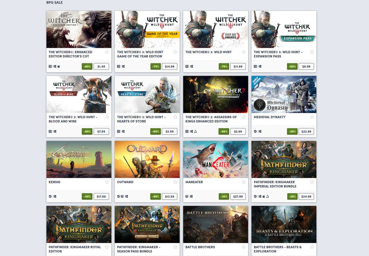 (PCDD) RPG Sale via Humble Bundle. 2