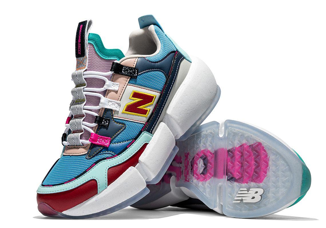 Ad: RESTOCK at Foot Locker! Jaden Smith x New Balance Vision Racer 'Surplus'      2