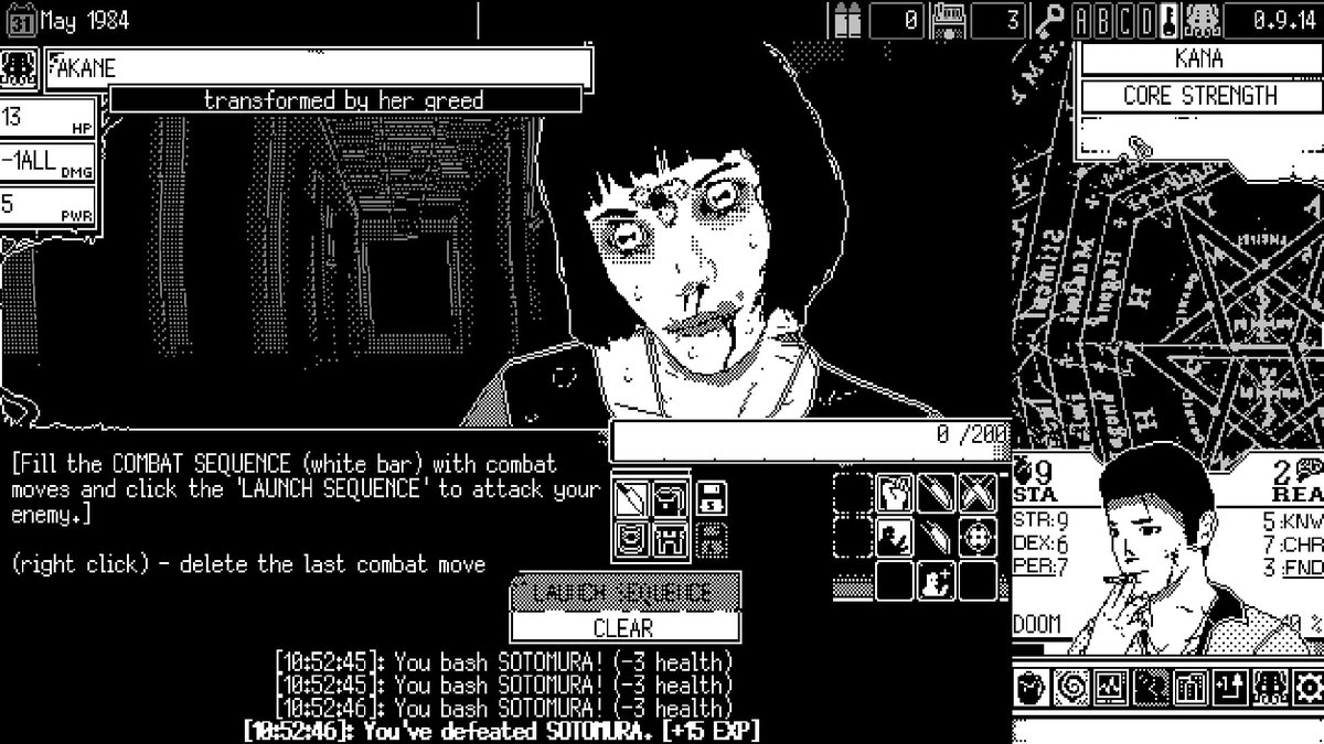 WORLD OF HORROR (early access) is $13.04 on Steam 2