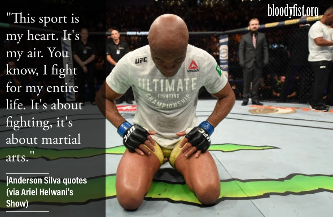 The middleweight legend and future hall of fame expresses his love for the game. @SpiderAnderson #mma #ufc #boxing #bjj #muaythai #kickboxing #jiujitsu #fitness #martialarts #wrestling #fight #grappling #karate #fighter #training #judo #mmafighter #gym #sport #mixedmartialarts https://t.co/A8FanycUig