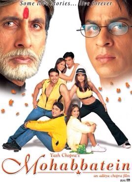 Due to SRK in #Mohabbatein20 these below actors turned as celebrity👇 Uday,Jugal,Kim,Shamita,Jimmy,Preity j,  Main thing is Amitabh regained his Mega star title and successfully able to re-enter to Bollywood with this blockbuster movie bcos of @iamsrk only. Agree???
