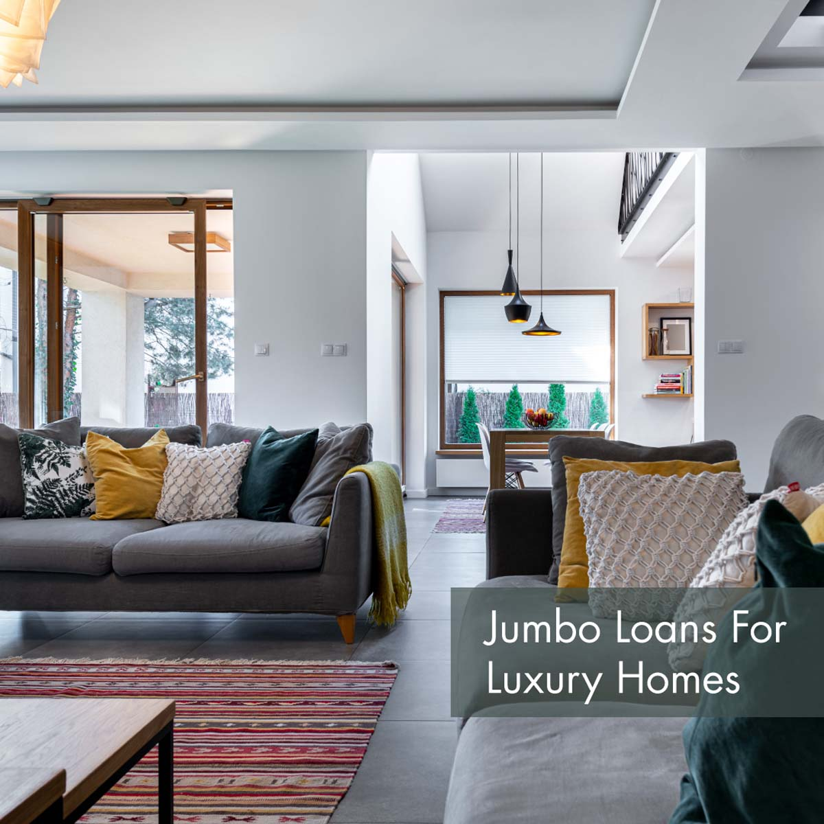 Loans above the conforming loan limit are known as Jumbo loans. If you have a high credit score and the income to match, a jumbo loan can help you live large. Jumbo loan limits can vary, but I'll help you find out exactly how much you can spend. Call today! https://t.co/azIRotMn2Q