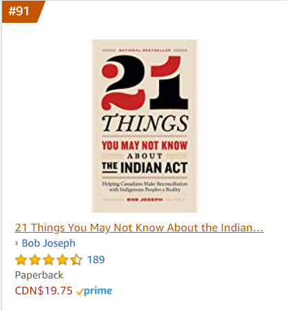 #21Things You May Not Know About The #IndianAct has inched its way back into the top 100 books on hubs.ly/H0yXQgD0