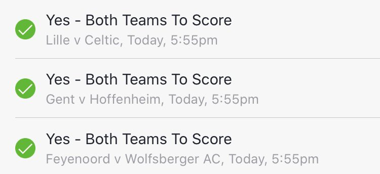 teams to bet on today