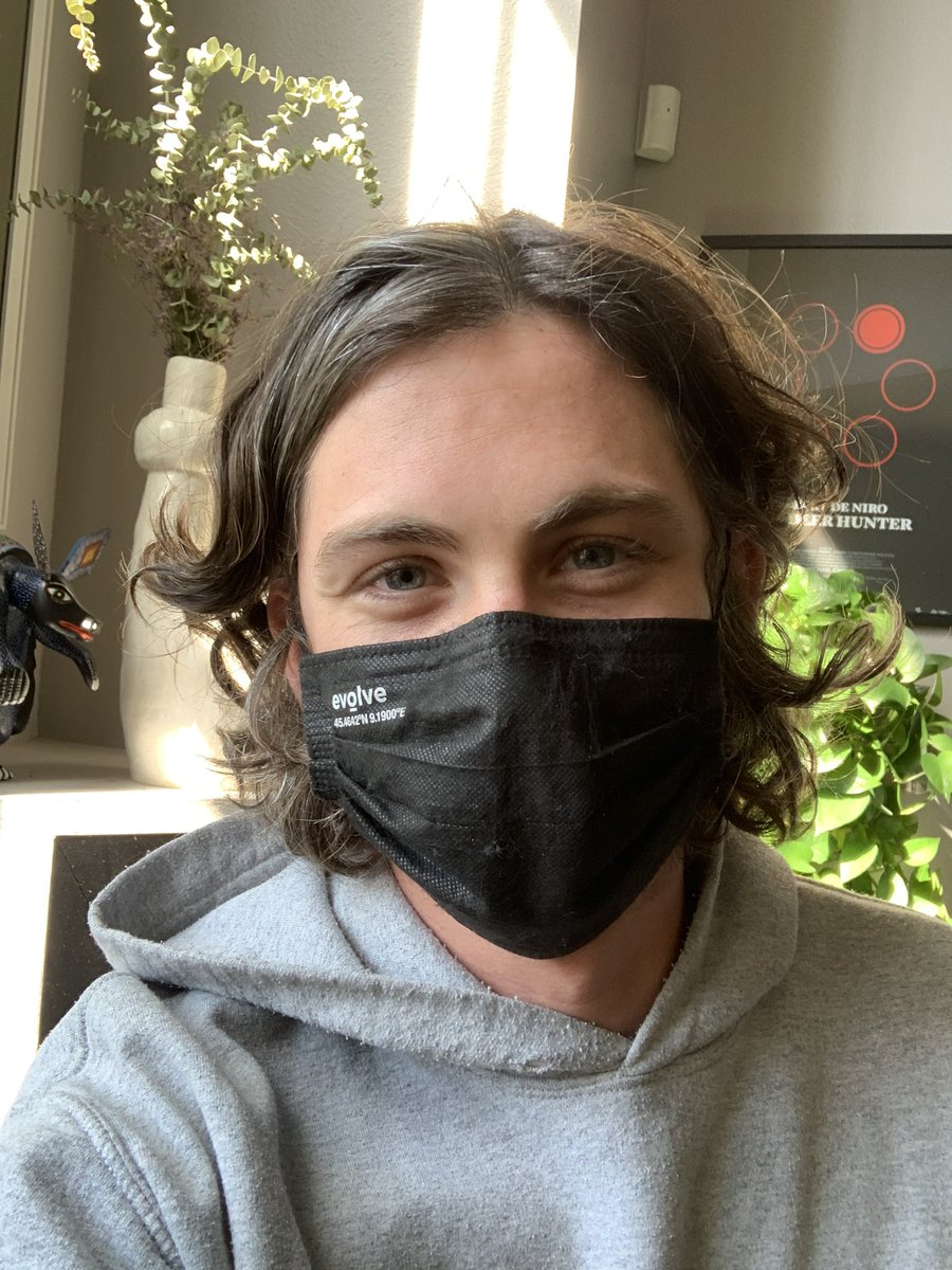 I wear a mask because I care for the health and safety of others.  Please vote for compassionate leaders who genuinely care for you and yours. #BidenHarris2020 #maskup  Tag: @JordanPeele @realmonaghan @lilycollins @natandalex @MarkDuplass @KingJames https://t.co/SSY8zfUZ5J https://t.co/QYIaJQTqPw