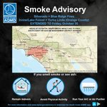 Image for the Tweet beginning: AIR QUALITY ADVISORY UPDATE (Thursday,